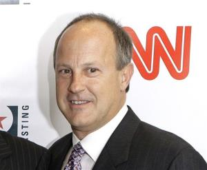 This 2007 file photo shows Jim Walton, president of CNN Worldwide.