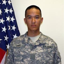 This undated file photo provided by the U.S. Army shows Pvt. Danny Chen,19.
