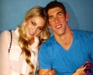 Michael Phelps and his new girlfriend, Megan Rossee.
