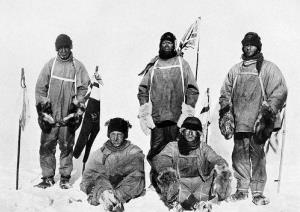 Robert Falcon Scott from his ill-fated Antarctic exploration trip in 1912.