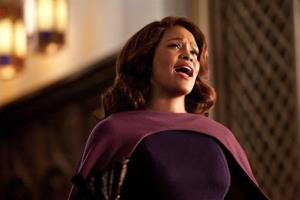 This undated film image released by TriStar Pictures shows Whitney Houston in a scene from Sparkle.