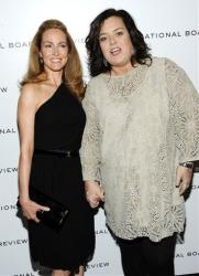 Rosie O'Donnell and girlfriend Michelle Rounds attend the National Board of Review awards gala at Cipriani 42nd Street on Tuesday, Jan. 10, 2012 in New York.