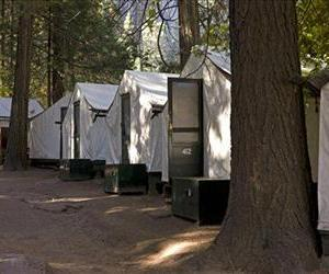 In this file photo from Oct. 23, 2011, tents in Curry Village in Yosemite National Park. Yosemite officials are broadening their notification of visitors who may have been exposed to Hantavirus.