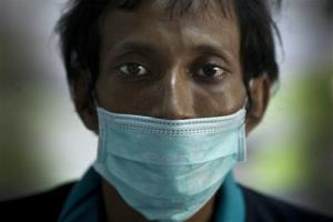 This 2009 photo shows a TB patient in Lopburi, Thailand.