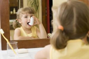 A commonly used asthma drug can permanently stunt a child's height by about half an inch, according to a new study.
