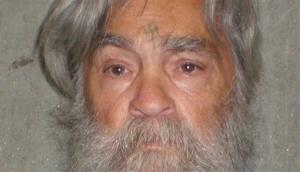 This April 4, 201,2 file photo provided by the California Department of Corrections shows Charles Manson.