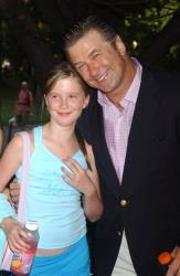 Alec Baldwin and his daughter Ireland are seen in this Tuesday, July 12, 2005 file photo in New York.