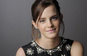Emma Watson, a cast member in The Perks of Being a Wallflower, poses for a portrait at the 2012 Toronto Film Festival, Sunday, Sept. 9, 2012, in Toronto.