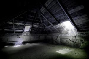 Not the attic in question.