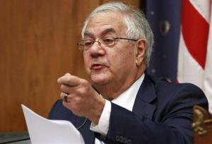Rep. Barney Frank, D-Mass., in June, 2012.