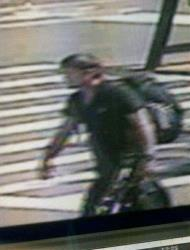 The NYPD released this surveillance video image of the suspect.