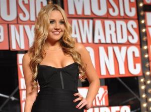 In this Sept. 13, 2009 file photo, Amanda Bynes arrives at the MTV Video Music Awards in New York.