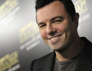 Seth MacFarlane arrives at the Blu-ray and DVD release party for the animated film Family Guy: It's a Trap in Los Angeles on Tuesday, Dec. 14, 2010.