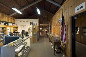 Hooded robbers armed with pickaxes burst into the California State Mining and Mineral Museum in Mariposa, Calif.