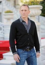 British actor Daniel Craig arrives for the photo call of the 23rd film in the James Bond series, 'Skyfall', in Istanbul, Turkey, Sunday, April 29, 2012.