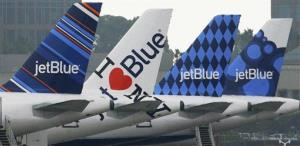 JetBlue is giving disgruntled voters a way out ... but not to Canada, which it doesn't fly to.