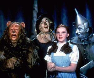 A scene from The Wizard of Oz.
