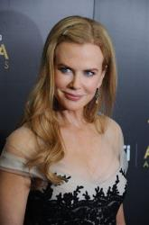 Nicole Kidman arrives at The Australian Academy of Cinema and Television Arts Awards, Friday, Jan. 27, 2012, at the Soho House, in Los Angeles.