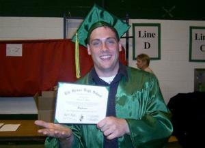 This June 2007  photo provided by the Weiler/Meyers family shows Greg Weiler at his graduation from Elk Grove High School in Illinois.