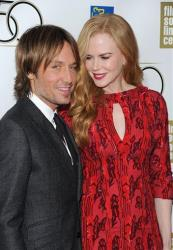 Actress Nicole Kidman and her husband Keith Urban attend the premiere of The Paperboy during the 2012 New York Film Festival at Alice Tully Hall on Wednesday Oct. 3, 2012 in New York.
