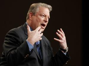 Al Gore in a file photo from January.