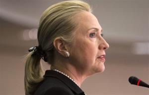 Hillary Clinton in Washington, Friday, Oct. 12, 2012.