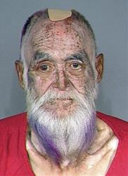 This booking photo released by the Maine State Police shows Gary Raub.
