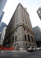 The Federal Reserve Bank of New York.