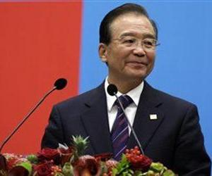 Chinese Premier Wen Jiabao speaks during an EU-China summit in Brussels, Sept. 20, 2012.