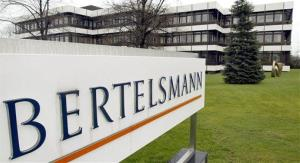 This March 13, 2003 file photo shows an outside view of the German media giant Bertelsmann in Guetersloh, Germany.