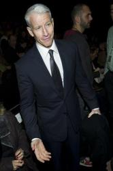 TV talk show host Anderson Cooper seen in New York earlier this year.
