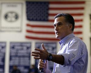 Mitt Romney speaks at a campaign event in Ohio yesterday collecting supplies from residents and local relief organizations for victims of superstorm Sandy.