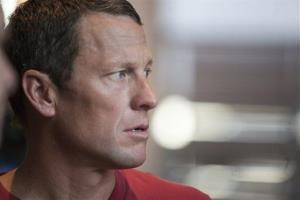The Feb. 15, 2011 file photo shows US cyclist Lance Armstrong during an interview in Austin, Texas.