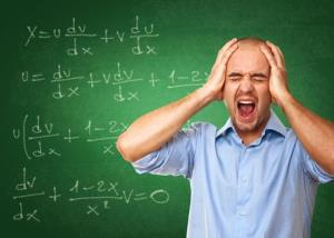 A study by University of Chicago researchers suggests that the stress caused by thinking about math can produce actual physical pain.