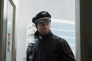 This film image released by Paramount Pictures shows Denzel Washington portraying Whip Whitaker in a scene from Flight.
