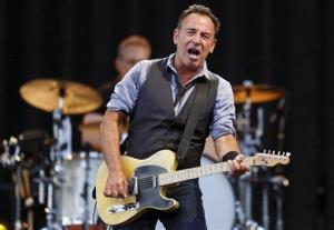This Aug. 14, 2012 file photo shows Bruce Springsteen, who appeared in NBC's benefit concert for Hurricane Sandy victims. The show raised $23 million.
