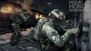 This product image released by Electronic Arts shows action from the video game Medal of Honor: Warfighter.