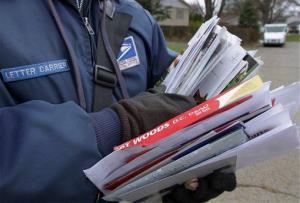 A family in Denver has accused a mail carrier of stepping over a body to make a delivery.