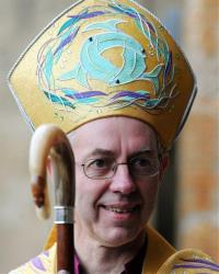 This Nov. 11, 2011 file photo shows the Right Reverend Justin Welby.