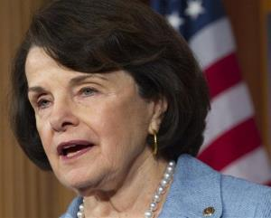 In this April 18, 2012, file photo, Sen. Dianne Feinstein, D-Calif., head of the Senate Select Committee on Intelligence, speaks on Capitol Hill.