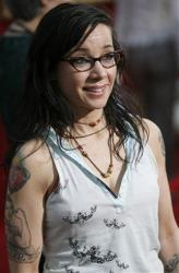 Actress Janeane Garofalo arrives at the premiere of Ratatouille, Friday, June 22, 2007, in Hollywood area of Los Angeles.