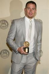 Actor and honoree Channing Tatum attends the 71st Annual Peabody Awards in New York, Monday, May 21, 2012.