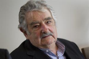 Uruguay President Jose Mujica is seen in Oslo, Norway, Friday Oct. 14, 2011.