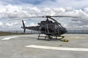 Stock image of a helicopter.