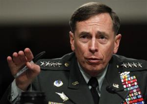 In this June 29, 2010 file photo, Gen. David Petraeus testifies before the Senate Armed Services Committee on Capitol Hill in Washington.