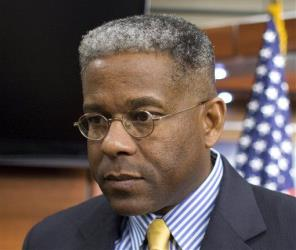 This Oct. 4, 2011 file photo shows Rep. Allen West, R-Fla. during a news conference on Capitol Hill in Washington.