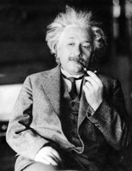 This undated file photo shows famed physicist Albert Einstein.