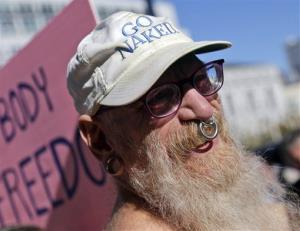 San Francisco's Naked Guys will have to cover up by early next year if the mayor approves the ban.