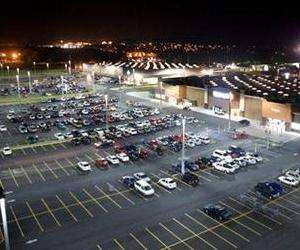 Two were injured in a Walmart parking lot last night.