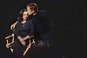 This publicity image released by Lifetime shows Grant Bowler as Richard Burton, right, and Lindsay Lohan as Elizabeth Taylor in the Lifetime Original Movie, Liz & Dick.